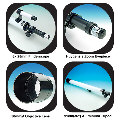Star Tracker 35x-50x 50mm Zoom Terrestrial Telescope with 6x 25mm Finderscope (floor model) EDU-36686