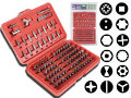 VELLEMAN VTBT11 - 100-PC SCREWDRIVER BIT SET