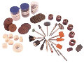 VELLEMAN VTHDS4 DRILL & GRINDER ACCESSORIES - 125 pcs