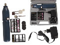 VELLEMAN VTHD23BU RECHARGEABLE DRILL WITH 34 ACCESSORIES