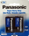 BT-9009-2 9 Volt Regular Battery-2 Pack