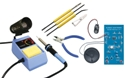 Elenco SK-175 Educational Solder Kit with Station and Tools