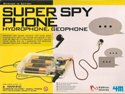 Toysmith 4606 Super Spy Phone Kit- Hydrophone - Geophone