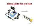 VTSS5U SOLDERING STATION 50W w/Extra Tip & Solder Dispencer combo pack
