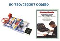 Snap Circuits SC-750/753307 COMBO SC-750/753307 COMBO Extreme 750 in 1 Experiment Lab & Student Guide