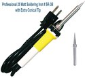 SR3B/SR2BT3 COMBO Professional 25 Watt Soldering Iron SR-3B with Extra Conical Tip