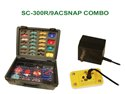 Snap Circuits SC-300R-9ACSNAP COMBO 300R in 1 Experiment Lab w ACSNAP (non soldering kit)