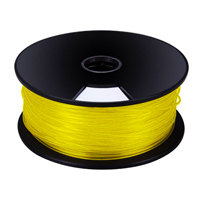 "VELLEMAN PLA3L1 3 mm (1/8"") PLA FILAMENT - LUMINOUS (GLOWS IN THE DARK) - 1 kg / 2.2 lb for 3D PRINTERSNTE-GLOW IN THE DARKRS"
