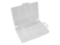 "VELLEMAN OCBR1PLASTIC STORAGE BOX (3.35"" x 5.31"" x 0.98"") - 5 COMPARTMENTS"