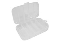 "VELLEMAN OCBR6 PLASTIC STORAGE BOX (2.95"" x 4.92"" x 1.30"") - 5 COMPARTMENTS"