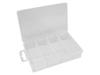 "VELLEMAN OCBR9 plastic compartment storage box (5.32"" x 3.3"" x 1.2"") - 7 compartments"