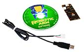 Robotic Arm Edge Kit USB Interface Software with Activities and Experiments Curriculum Combination Pack