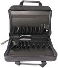 ELENCO C-800 Deluxe,Heavy-Duty Black Canvas Zipper Case